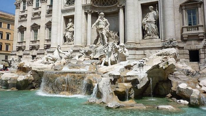La fontaine de Trevi, la fontaine emblématique de Rome