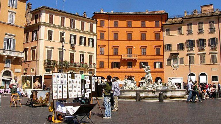 Les quartiers de Rome