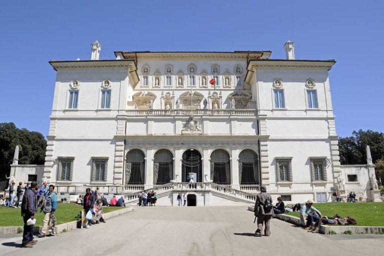 La galerie Borghese