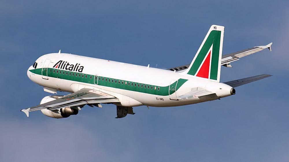 Airbus 319 de la compagnie italienne Alitalia