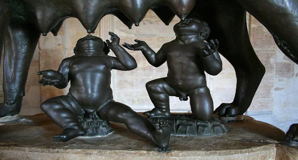 Événements Rome mythe fondation.