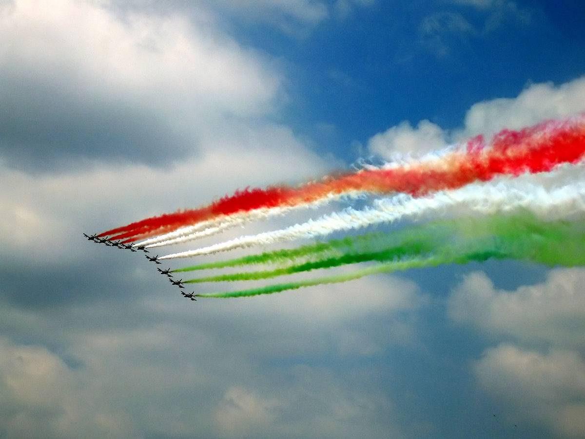 couleurs italiennes pour la fête nationale jours fériés