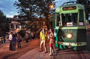 tramway romain