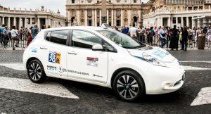 taxi romain électrique