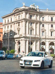 taxi à Rome