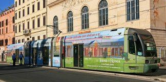 ligne 8 du tramway à Rome