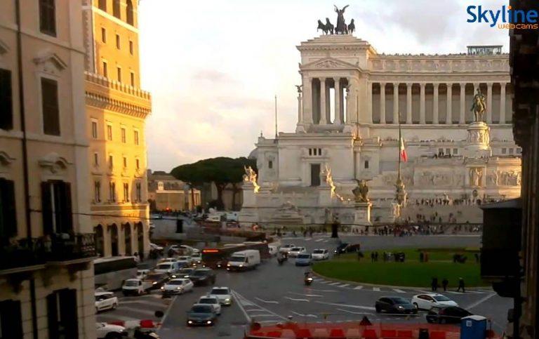 Le monument à Victor-Emmanuel II