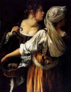 Judith et sa servante.