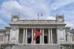 La Galerie d'Art Moderne et Contemporain à Rome.