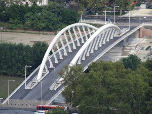 Ponte della Musica à Rome.