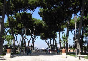 Le Jardin des Orangers à Rome.