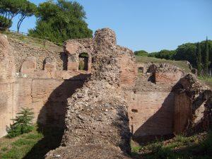 Les ruines du Cirque Maximus.