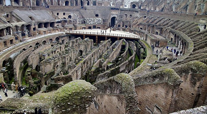 Le Colisée à Rome, à voir avec des enfants.