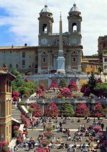 Les azalées piazza di spagna rome.
