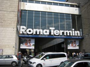 La gare de Roma Termini.