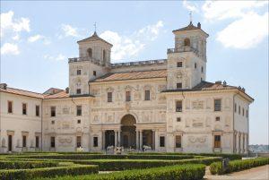 La villa Medicis (Rome).