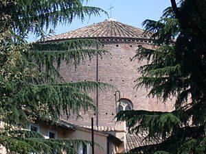 L'église saint etienne le rond, à rome.