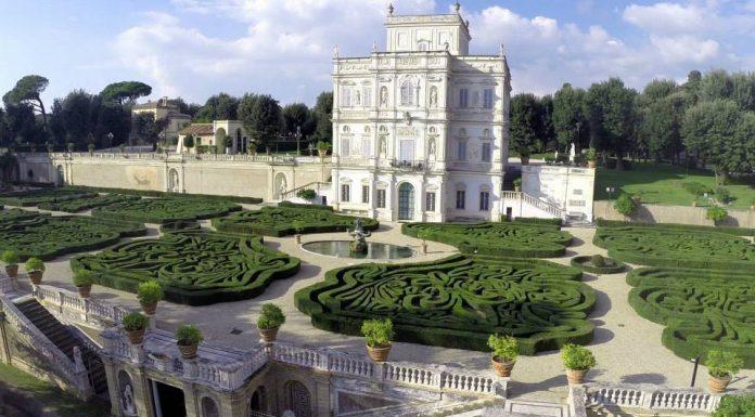 Jardin de la villa Doria Pamphilij.