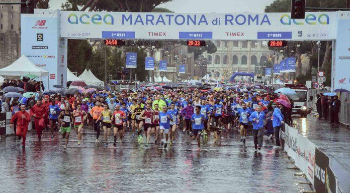 Le marathon de Rome 2017.