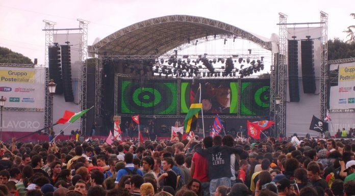 concert de rock à Rome