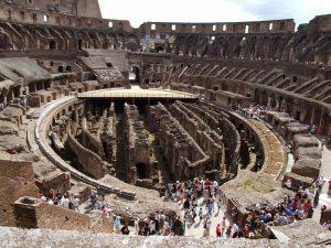 colisee souterrains rome