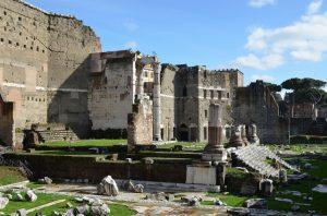 Forums impériaux à rome