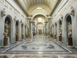 L'aile nouvelle musées du Vatican.