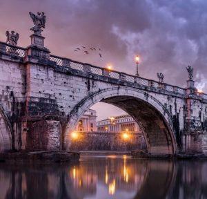 Vue dîner-croisiere a Rome.