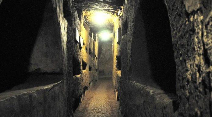 catacombes de Domitilla Rome