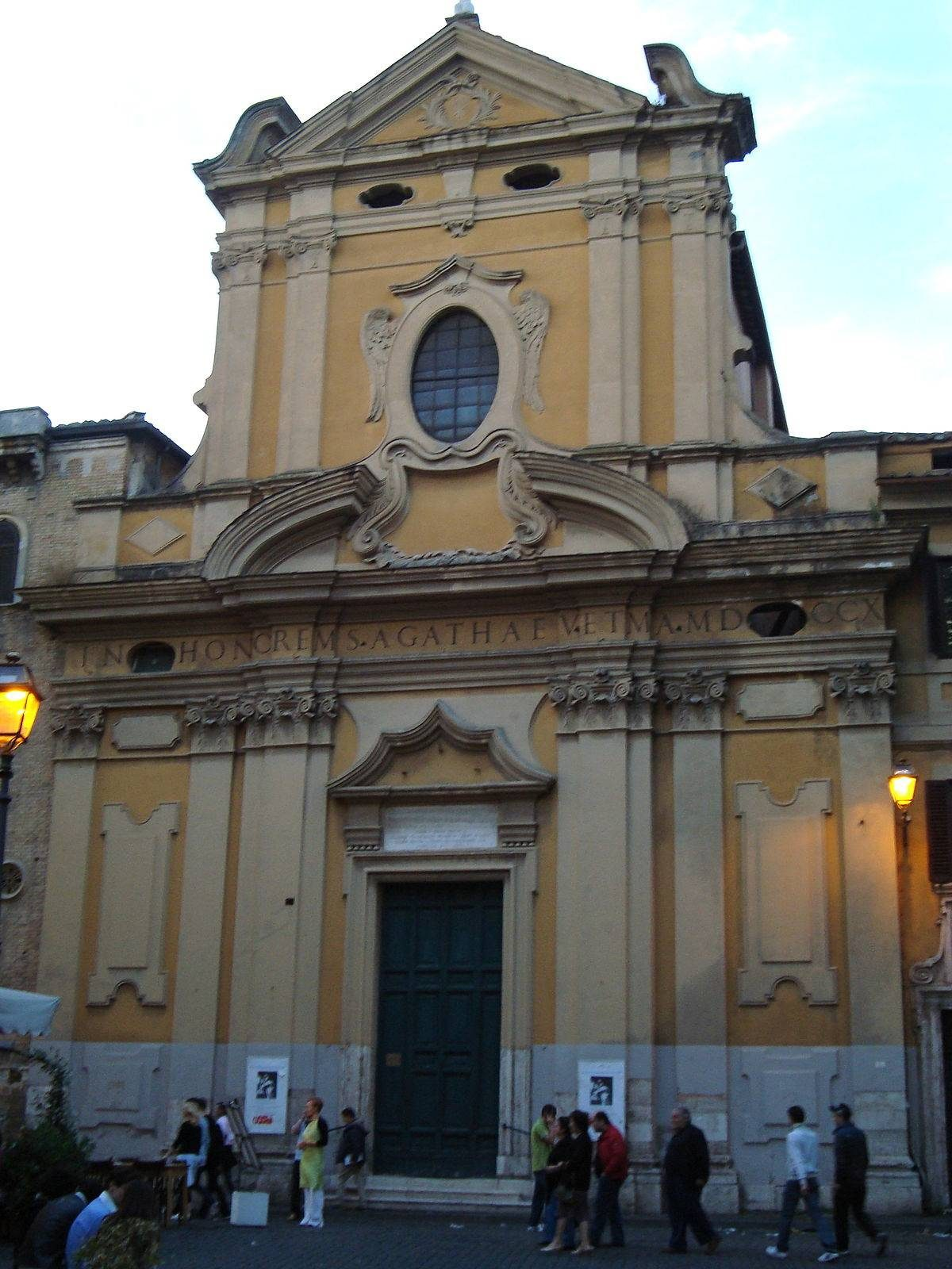 Eglise_Sant'Agata_in_Trastevere_de_Rome