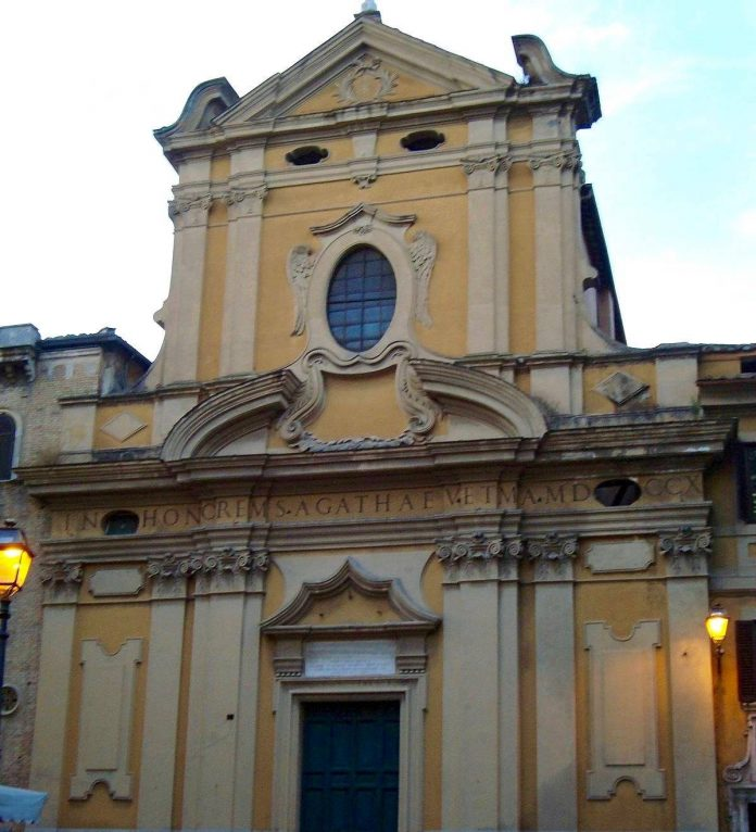 eglise_santagata_in_trastevere_rome_processions