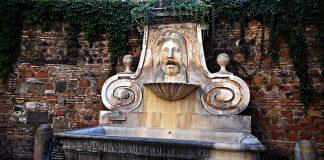fontaine de mascherone via giulia rome