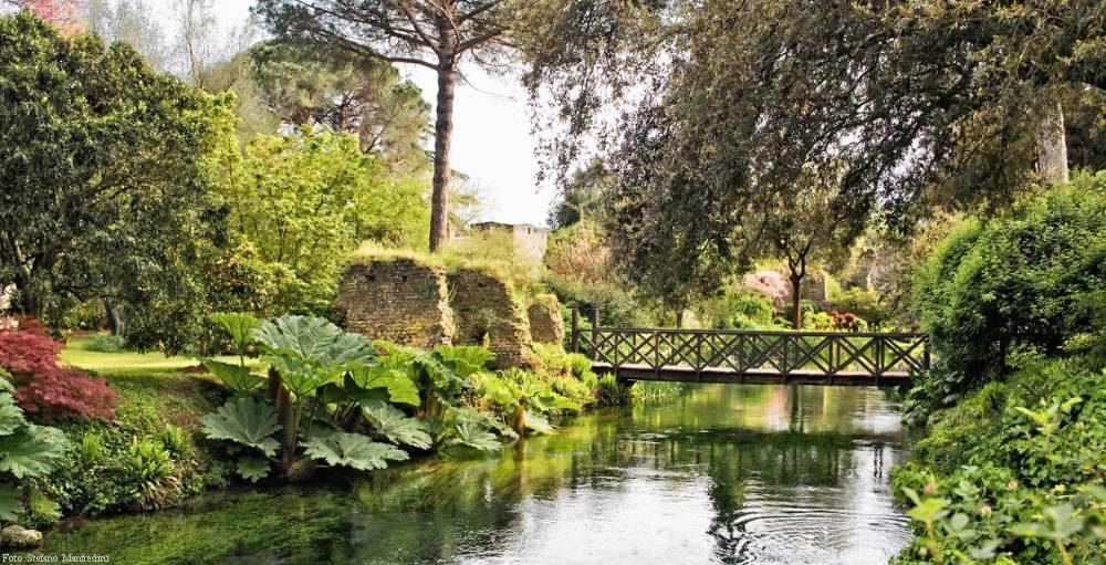 les jardins des nymphes rome