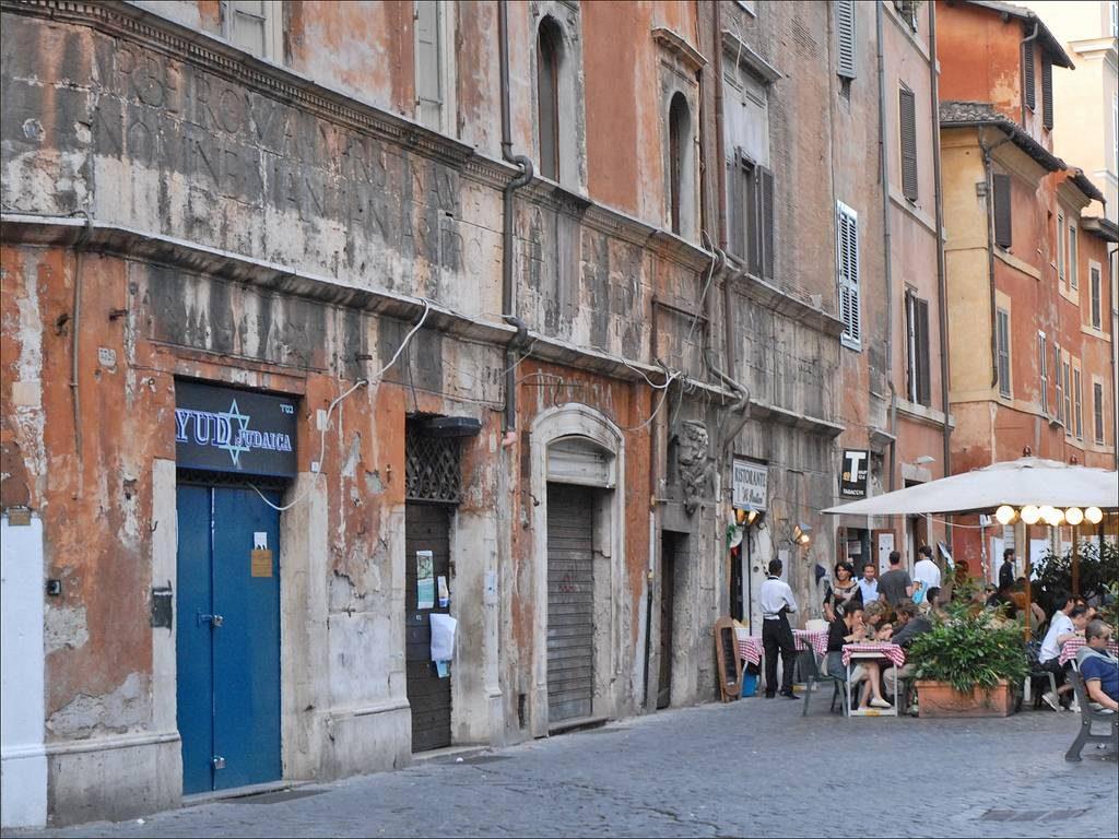 quartier du Ghetto a rome