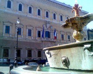 quartier - piazza farnese - rome