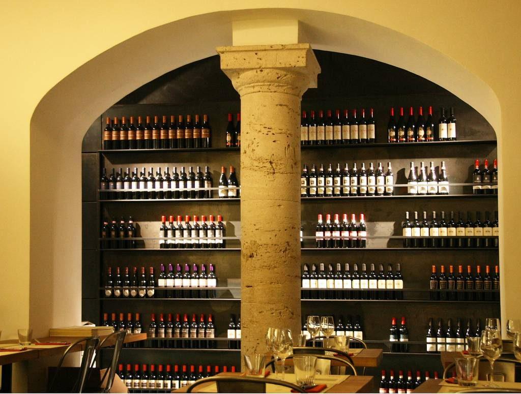 un des restaurants de rome