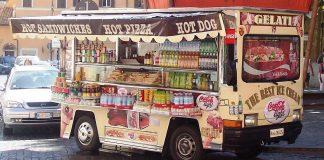camion de glaces rome