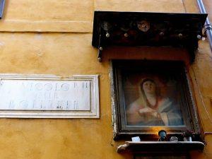 rome détails Madonna delle bollette