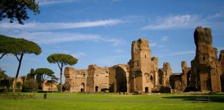 thermes de caracalla rome
