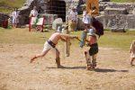 Entrez à l'école des gladiateurs romains !