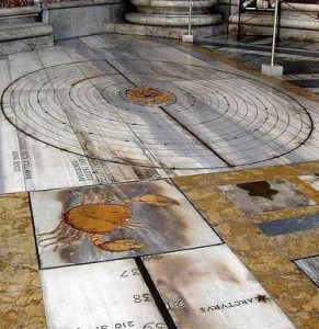 instruments cadran solaire bianchini pape rome
