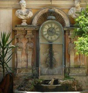 instruments horloge eau berardi rome