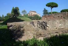 Mont Palatin vue Rome