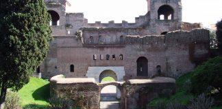 Murs aurelien Porta_Asinaria rome_