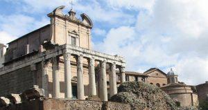 Astérix temple de Cesar Rome.