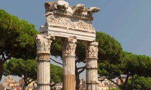 Astérix temple de Vénus Rome.