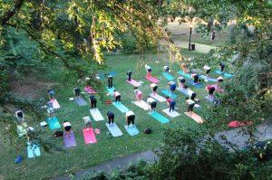 cours de yoga rome