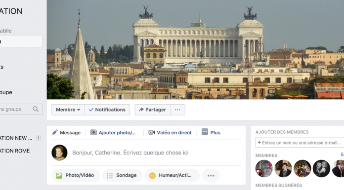 Destination Rome.