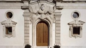 Halloween palais Zuccari Rome.