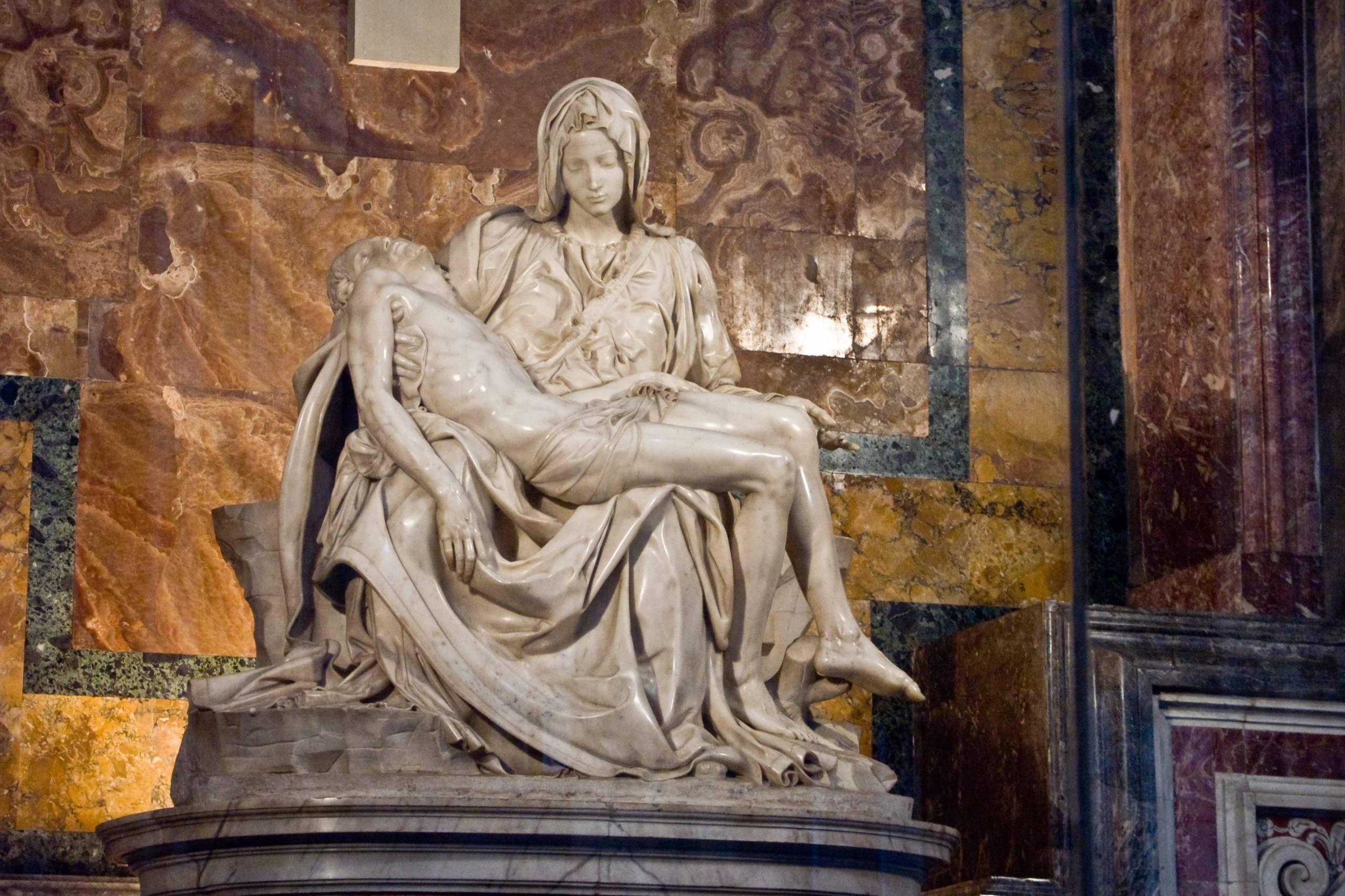Michel-Ange la pieta Rome.